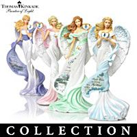 Thomas Kinkade Wings Of Remembrance Figurine Collection