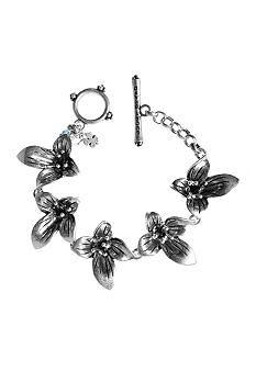 Lucky Brand Jewelry Floral Toggle Bracelet    Price $32.00