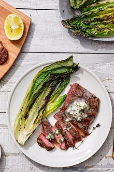 NYT Cooking: Steve Johnson, the chef at the Blue Room in Cambridge, Mass., has been cooking skirt steak for years, long before it became wildly popular. But never before has he served a better – or simpler – rendition of this long, thin band of wonderfully marbled beef. His secret: a slice of compound butter, flavored with shallots, chives and thyme, that melts over the meat. It%...
