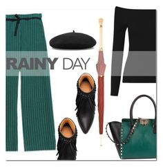 """rainy day"" by mirisproleca ❤ liked on Polyvore featuring Marni, Alexander McQueen, Valentino and rainyday"
