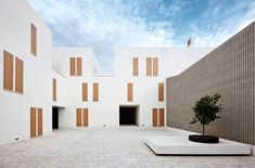 Sozialer Wohnungsbau in Sa Pobla auf Mallorca - Flachdach