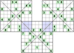 Number Logic Puzzles: 21678 - Sudoku size 9