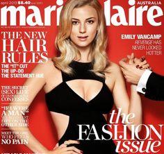 Emily VanCamp Covers Marie Claire Australia