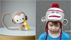 Pinteresting Projects: free monkey crochet patterns • LoveCrochet Blog