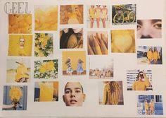Moodboard kleur geel