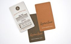 Leather Soul Business Cards