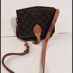 """LV bag Crossbody Louis Vuitton bag shoulder bag Louis Vuitton Monogram Cartouchiere MM Shoulder Bag LV bag Measurements approx: L 9"""" x H 7.5"""" x W 3"""" Shoulder Strap Length 27.5-44.5"""" Made in: France Date code reads: SD0925 Condition: It has sign of wear some stain on strap but no major damages, please refer to pictures to see the condition and more detail  Thanks for stopping by, any questions please feel free to ask. Happy shopping. Louis Vuitton Bags Crossbody Bags"""
