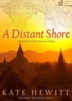 A Distant Shore (The Emigrants Trilogy Book Ebook Cover, Usa Today, Bestselling Author, Religion, Fiction, Spirituality, Reading, Kindle, Ebooks