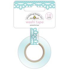Pistachio Lace Sugar Shoppe Washi Tape 12yds by Doodlebug