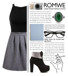 """""""Romwe 3."""" by selmagorath ❤ liked on Polyvore featuring Sole Society, Miss Selfridge, women's clothing, women's fashion, women, female, woman, misses and juniors"""