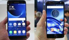 Phone Comparisons: Samsung Galaxy S7 Edge vs Lenovo Moto Z Force #android #google #smartphones