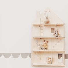 Did you ever see a cuter shelf? It's perfect for creating a whimsical kids room