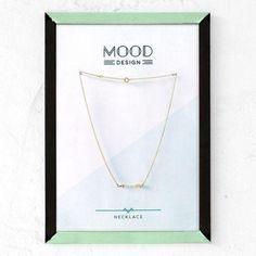 collar flecha oro  plata chapada en oro montaje