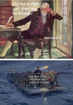 Really Funny Memes, Stupid Funny Memes, Haha Funny, Hilarious, Funny Stuff, Terrible Jokes, Art History Memes, Funny History, Women's History