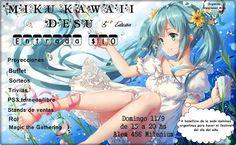Kagi Nippon He ~ Anime Nippon-Jin: Miku Kawaii Desu 5ta ediciòn 2016…