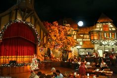 Epcot - Biergarten in Germany - YUM! this was our funnest dinner! The food was so good and the entertainment was great!