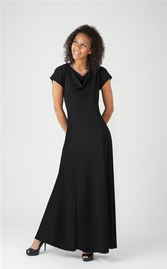 The Pippa Performance Concert Dress is an Adult dress for choirs, orchestras, band, and quartets. Offered by Cousin's Concert Attire Choir Dresses, Concert Dresses, Concert Wear, Modest Dresses, Modest Outfits, Pippa Dress, Dress P, Choir Uniforms, Inexpensive Dresses