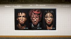 """Jessica Walsh and Stefan Sagmeister """"Take it On"""" - a poster series for the School of Visual Arts in NYC Sagmeister And Walsh, Stefan Sagmeister, Poster Series, Poster On, Web Design Mobile, School Of Visual Arts, New York, Nyc Subway, Wine Design"""