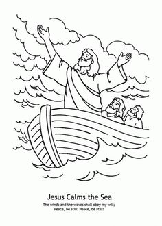 BIBLE COLORING PAGES Jonah Learns