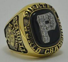1960 1979 Pittsburgh P irates World Series Championship Ring Fan Men Gift 1979 World Series, World Series Winners, World Series Rings, Pittsburgh Sports, Pittsburgh Pirates, Pure Football, Pirates Baseball, Championship Rings, Sports