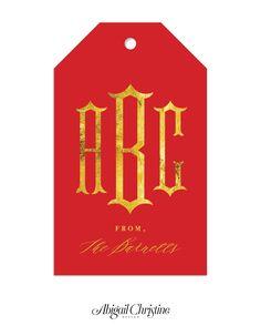 Custom Monogram Gift