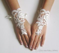 Wedding gloves beaded pearls white or ivory lilac bridal gloves lace gloves fingerless gloves french lace gloves lavender Gothic Wedding, Ivory Wedding, Wedding Bride, Wedding Dresses, Modest Wedding, Wedding Attire, Wedding Bells, Bridal Cuff, Bridal Lace