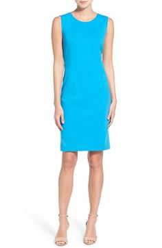 T Tahari 'Pria' Sleeveless Sheath Dress available at #Nordstrom