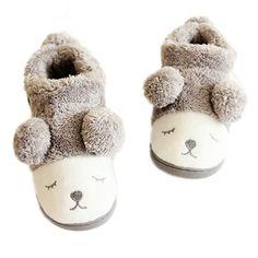 Adorable plush slippers that your feet will looooooooooooooove. | 21 Awesome Products From Amazon To Put On Your Wish List