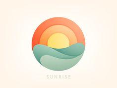 Sunrise by Yoga Perdana - Dribbble