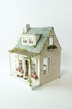 The Old Country House Custom Dollhouse by cinderellamoments
