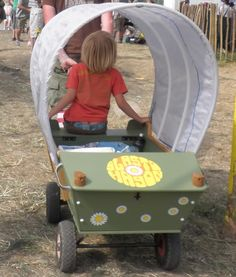 kids waggon festivals