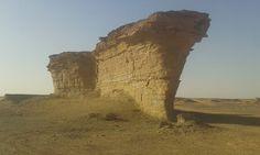 عين برابر ما بين وادي الاريل .. وواحة الزيغن   .. فزان .. ليبيا