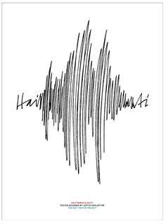 So clever: for haiti after the earthquake... I love cleverness!