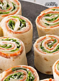 Antipasto Tortilla Appetizers #recipe