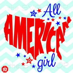 All American Girl & Boy design SVG and studio files for by SVGstop