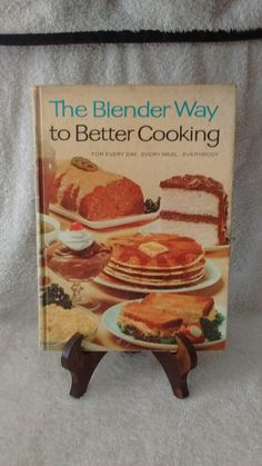 The Blender Way to Better Cooking, c 1965, by Hamilton Beach, vintage cookbook by Artisticflea on Etsy