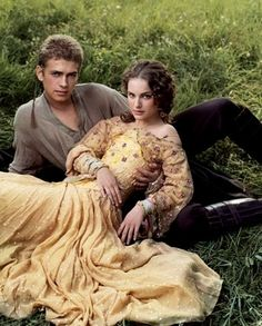 s Epic Star Wars Photo Album - Star Wars Princesses - Ideas of Star Wars Princesses - Anakin and Padme by Annie Leibovitz. I really like this pose and angle and everything about it. Star Wars Padme, Star Wars Clone Wars, Obi Wan, Star Wars Clones, Tv Star, Star War 3, Star Wars Film, The Vampire Diaries, Chewbacca