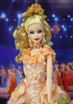 OOAK Barbie NiniMomo's Miss Georgia 2007