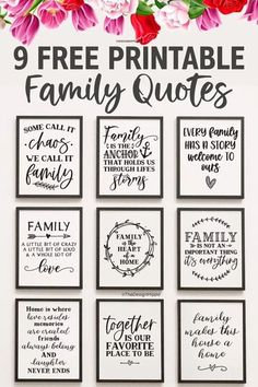 Family Wall Quotes, Wall Art Quotes, Quote Wall, Free Printable Quotes, Printable Wall Art, Free Printables For Home, Cricut Craft Room, Cricut Tutorials, Cricut Creations