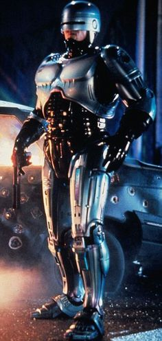 Robocop II, the movie.