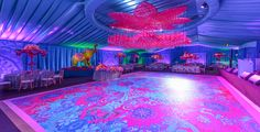 Turning a Dance floor Into a Statement Piece