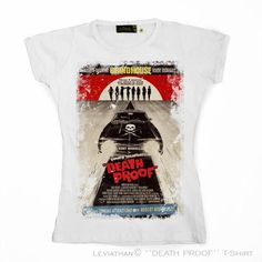 Death Proof - Women ••• 15.00€ ✠ #LeviathanCo #tshirt #design #psychobilly #creative #create #clothes #vintage #diseño #lifestyle #rockNroll #pinup #rockabilly #hotrod #tattoos #motocicletas #bikers #camiseta #rider