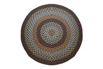 1492 - Block Bands Round Braided Rug This high-quality braided rug is made by American workers at our family-owned business in the North Carolina Mountains. It is made from Naturalized Olefin, which is a synthetic, polypropylene yarn that is extremely durable, yet soft enough for use indoors. It is color fast and washable. Visit www.stroudbraided... for more details