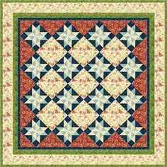 Today, we're making a 12″ block- I designed it as a Christmas block, but obviously it's something you could use anytime! This block is named One Special Star, named for the special Star that led the shepherds to Bethlehem on that special Night of Nights. With this block, you could make quilts like this (these... Keep reading...