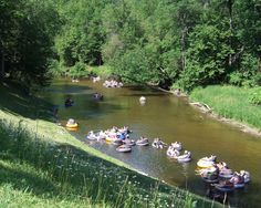 Rifle River, Michigan -Tubing at River View Campground