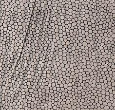 Polyester suédine à motifs écailles Laize 150 5 coloris