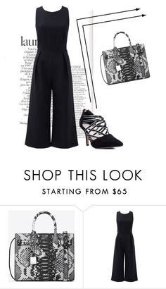 """""""Fashion with an accent 5"""" by mia-de-neef ❤ liked on Polyvore featuring Yves Saint Laurent and Rebecca Minkoff"""