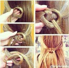 Woven hair tutorial