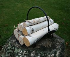 Amazon.com: Fireplace Birch Logs: Home & Kitchen
