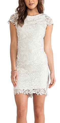 Shop for Alice + Olivia Clover Lace Dress in Light Silver at REVOLVE. Sexy Dresses, Prom Dresses, Peplum Dress, Lace Dress, White Dress, Moda Formal, Rehearsal Dinner Dresses, Costume, Revolve Clothing